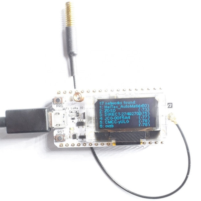 0.96 Inch OLED Lorawan WIFI Node 433-470 Upgrade Version LoRa WIFI IOT Development KIt SX1278 LoRa ESP32